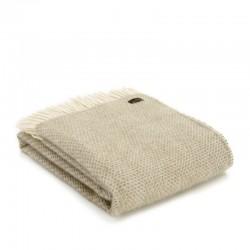 Plaid en laine vierge...