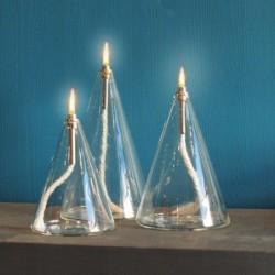 Lampe huile conique Peri