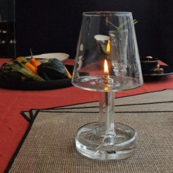 Lampe huile table Peri